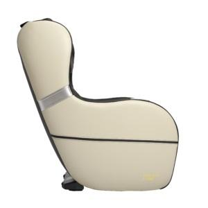Dynamic Modern Palo Alto Massage Chair-Black-Ivory