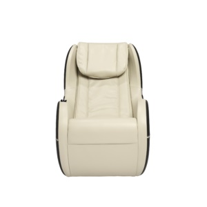 Dynamic Modern Palo Alto Massage Chair-Ivory-Black