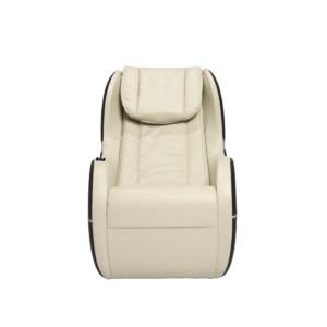 Dynamic Modern Palo Alto Massage Chair-Ivory-Black