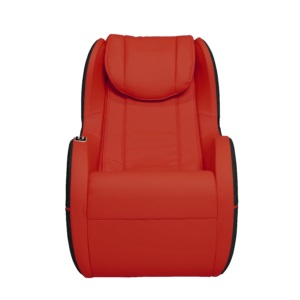 Dynamic Modern Palo Alto Massage Chair-Red-Black