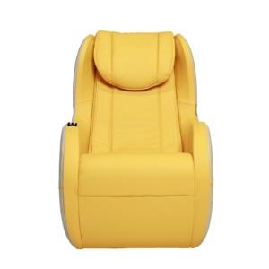 Dynamic Modern Palo Alto Massage Chair-Yellow-Ivory