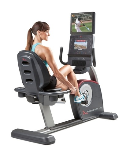chair exercise bike. freemotion c 11.6 exercise bike chair s