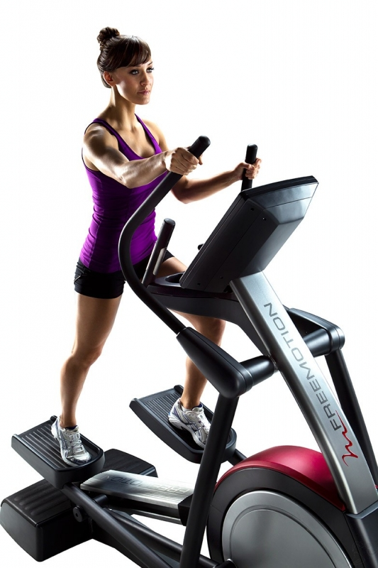 working trainer out interval elliptical