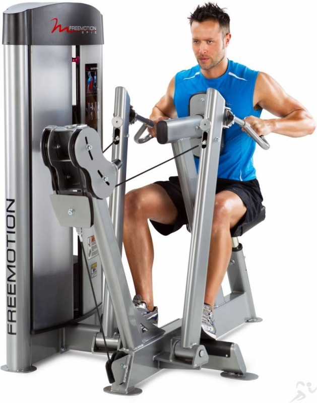 how to use the row machine at the