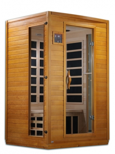 Golden Designs 2-Person Dynamic Far Infrared Sauna -DYN-6202-03
