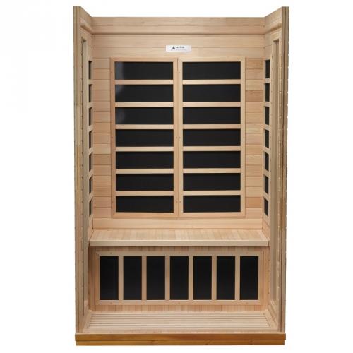 Golden Designs 2-Person Dynamic Far Infrared Sauna -DYN-6202-03
