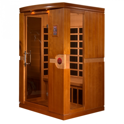 Golden Designs 1-2 Person Dynamic Far Infrared Sauna -DYN-6210-01