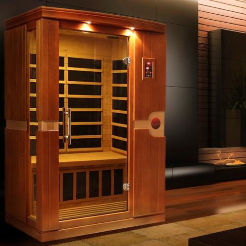 Golden Designs 1-2 Person Dynamic Far Infrared Sauna -DYN-6210-01