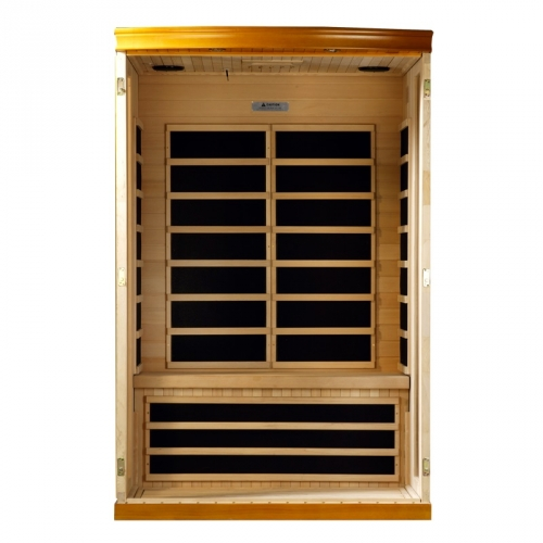 Golden Designs 2 Person Dynamic Far Infrared Sauna -DYN-6210-02