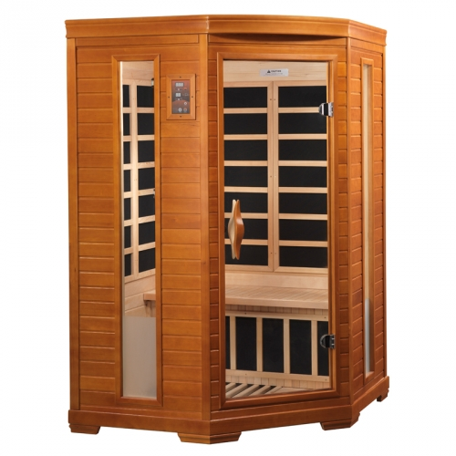 Golden Designs 2-Person Dynamic Far Infrared Sauna -DYN-6225-02