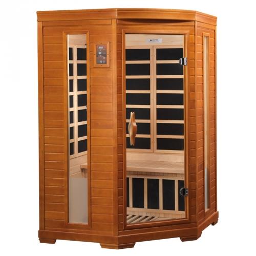 Golden Designs 2-Person Dynamic Far Infrared Sauna -DYN-6225-02