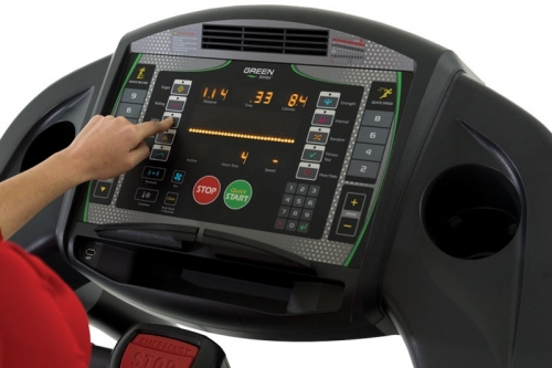 """Green Series 7000-G1 Treadmill with 16"""" LED Console"""