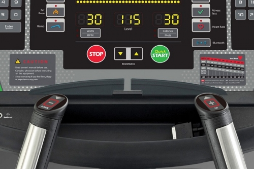 "Green Series 7000 G-1 Elliptical with LCD 16"" Console"