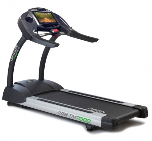 "Green Series 7000E-G1 Treadmill with 16"" Touchscreen"
