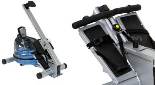 H20 Fitness RX-850 LTD Series ProRower Ergo Footrest