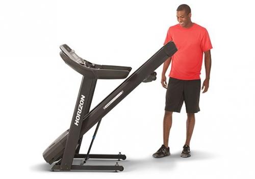 Horizon Adventure 5 Folding Treadmill