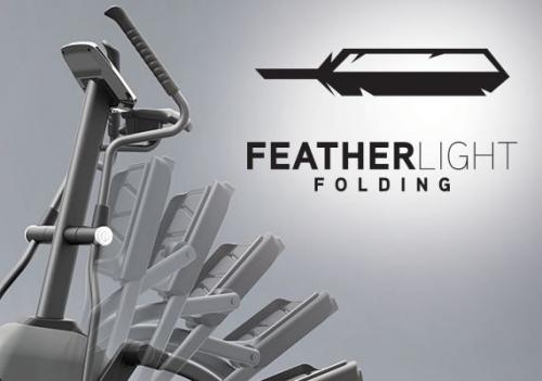 Horizon Evolve 3 Folding Elliptical with ViaFit