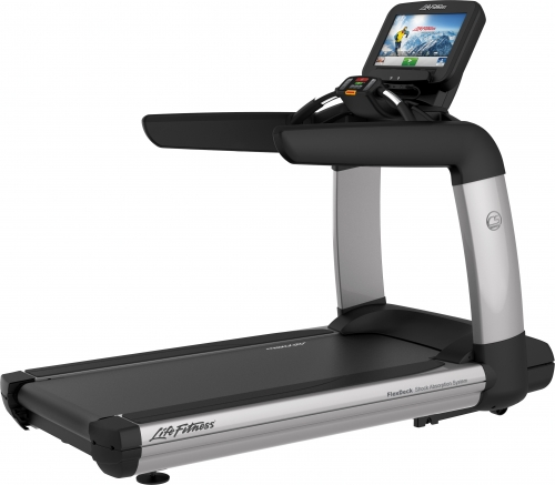 Life Fitness Platinum Club Treadmill with Discover SE Tablet Console