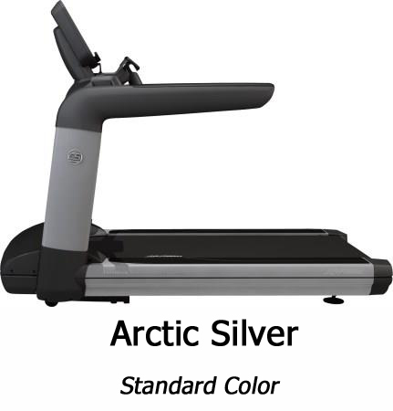 Life Fitness Platinum Club with Discover SE Tablet Artic Silver Console