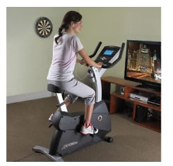 Fitnesszone Life Fitness C3 Upright Lifecycle Bike With Go Console
