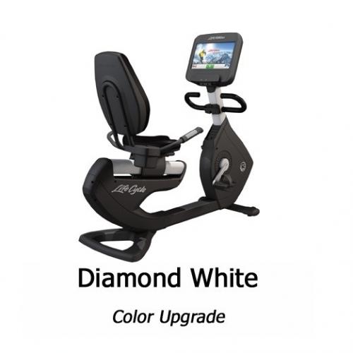Life Fitness Platinum Recumbent w/Discover SE Console