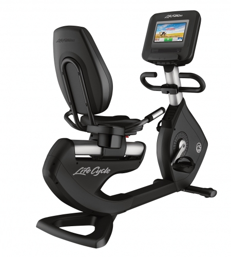 Life Fitness Platinum Club Series Recumbent w/Discover SI Console