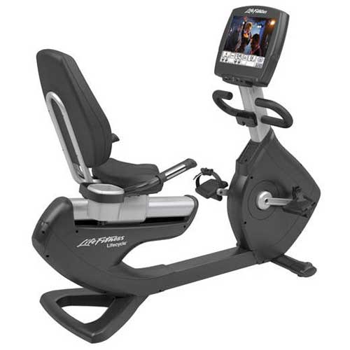 "Life Fitness Platinum Recumbent Bike w/15"" Engage Console"