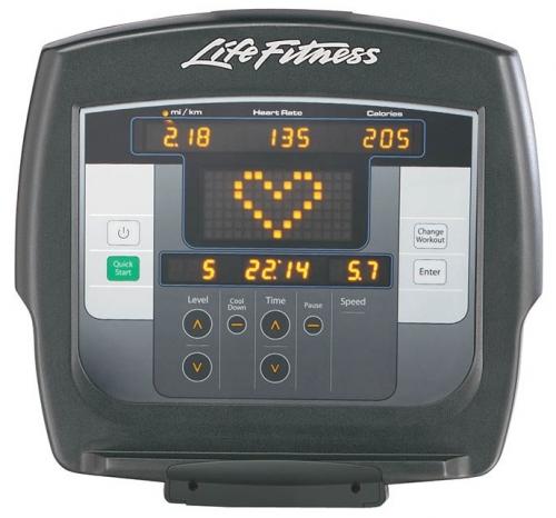 "Life Fitness Platinum Recumbent Bike w/7"" Inspire Console"
