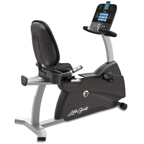 Life Fitness R3 Recumbent Lifecycle Bike w/Track Console