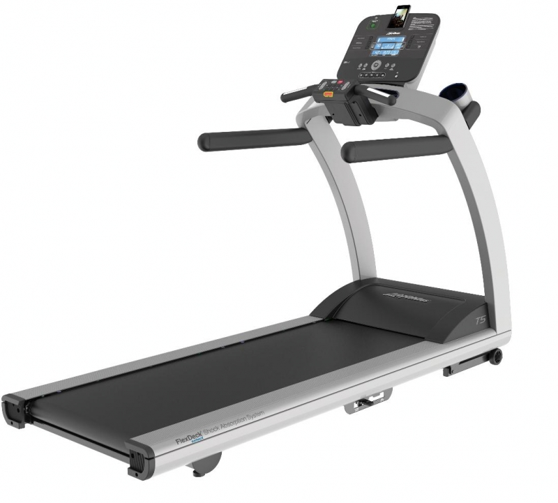 Life Fitness Treadmill Operation Manual: Life Fitness T5 Treadmill With TRACK Console