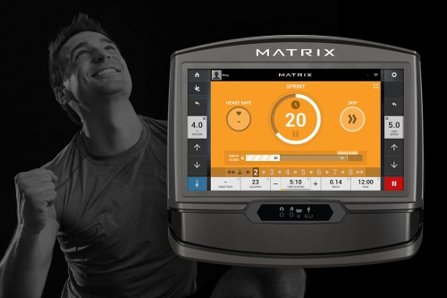 Matrix T70 Treadmill XR Console