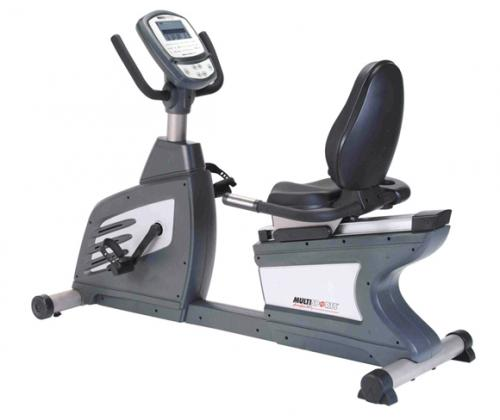 MultiSports CC-755R Commercial Recumbent Bike