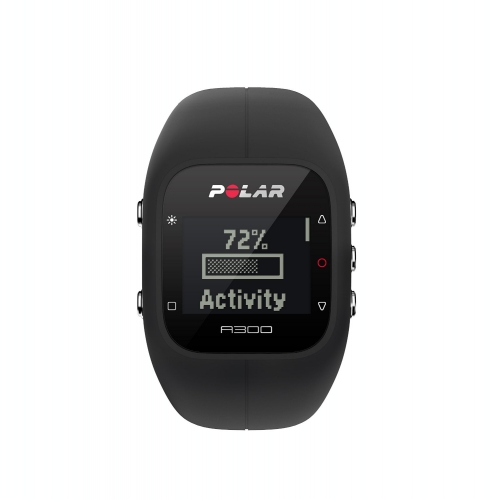 Polar A300 Black Fitness Watch with 24/7 Activity Tracking
