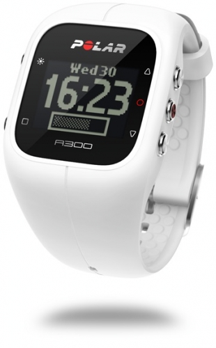 Polar A300 White Fitness Watch with 24/7 Activity Tracking