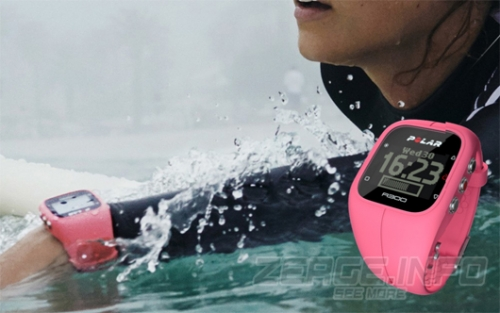 Polar A300 Pink Fitness Watch with 24/7 Activity Tracking