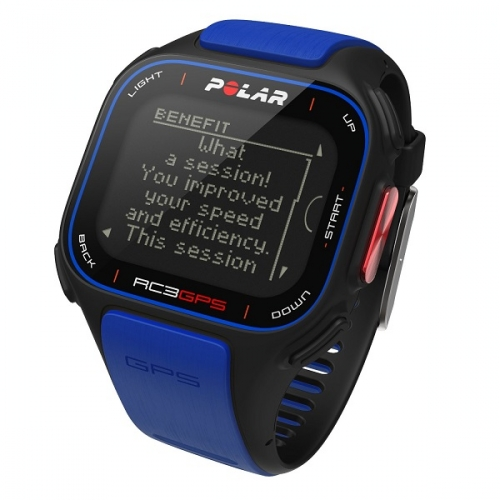 Polar RC3 GPS Heart Rate Blue Sports Watch 90050617