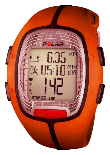 Polar RS300X Orange Sports Watch 90052058