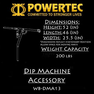 Powertec Dip Accessory (WB-DMA13)