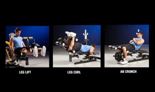 Powertec Leg Lift Accessory WB-LLA14