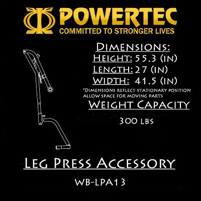Powertec Leg Press Accessory (WB-LPA13)