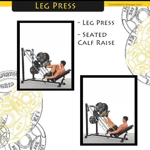 Powertec Leg Press P-LP14