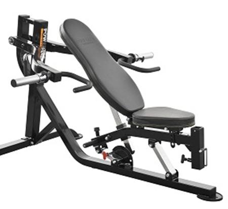 Fitnesszone powertec workbench multi press wb mp16 Leverage bench press