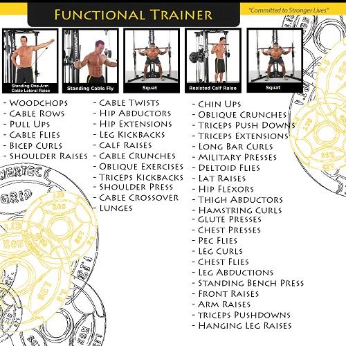 Powertec Workbench Functional Trainer (WB-FT14 B)