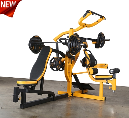 Powertec Workbench Multi System WB-MS16 YB (Matted Yellow-Black Finish)