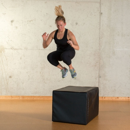 Prism Fitness Smart Soft Plyo Cube (3-in-1)