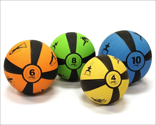 Prism Smart Medicine Ball 4lbs (Yellow)