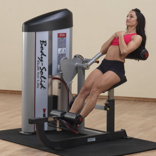 Body-Solid Pro Clubline Series II Ab and Back Machine S2ABB