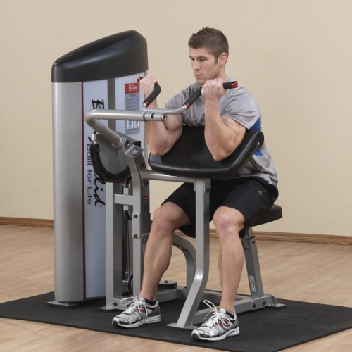 Body-Solid Pro Clubline Series II Arm Curl Machine S2AC