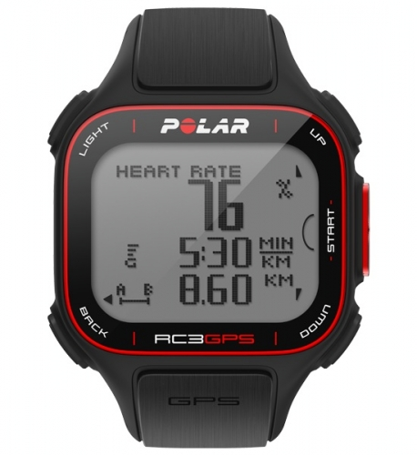 Polar RC3 GPS Black Sports Watch without Heart Rate