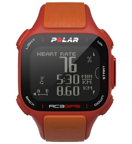 Polar RC3 GPS Red/Orange Sports Watch